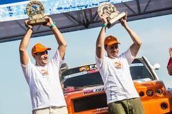 Boris Gadasin / Dan Shchemel G-Force Proto on the podium