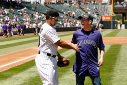 Regan Smith, Furniture Row Chevrolet bezoekt Colorado Rockies baseball