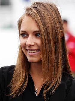 Dasha Kapustina, vriendin Fernando Alonso, Ferrari