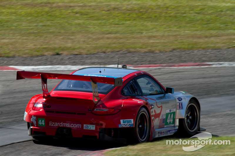 #44 Flying Lizard Motorsports: Seth Neiman, Andy Lally