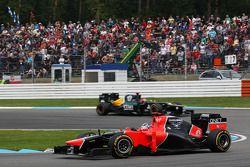Timo Glock, Marussia F1 Team ve Heikki Kovalainen, Caterham