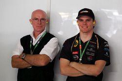 Conor Daly, Lotus GP en vader Derek Daly, gasten van Sahara Force India F1 Team