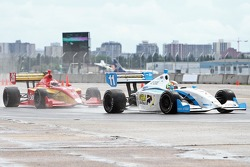 Esteban Guerrieri, Sam Schmidt Motorsports e Carlos Munoz, Andretti Autosport