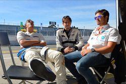 Pepe Oriola, SEAT Leon WTCC, Tuenti Racing Team en Fernando Monje, SEAT Leon WTCC, Tuenti Racing Tea
