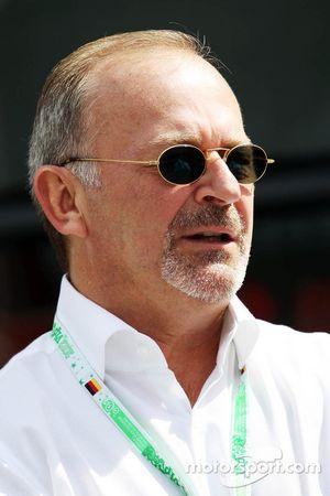 Didier Coton, Driver Manager of Lewis Hamilton, McLaren