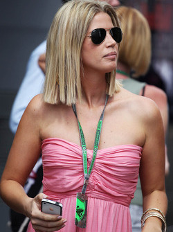 Isabell Reis, girlfriend of Timo Glock, Marussia F1 Team