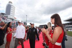 Nico Hulkenberg, Sahara Force India Formula One Team y Nico Rosberg, Mercedes GP