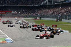 Start, race, Fernando Alonso, Scuderia Ferrari
