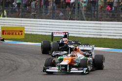 Nico Hulkenberg, Sahara Force India F1 ve Pastor Maldonado, Williams