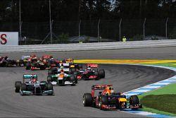 Sebastian Vettel, Red Bull Racing, start, race