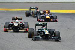 Vitaly Petrov, Caterham ve Kimi Raikkonen, Lotus F1