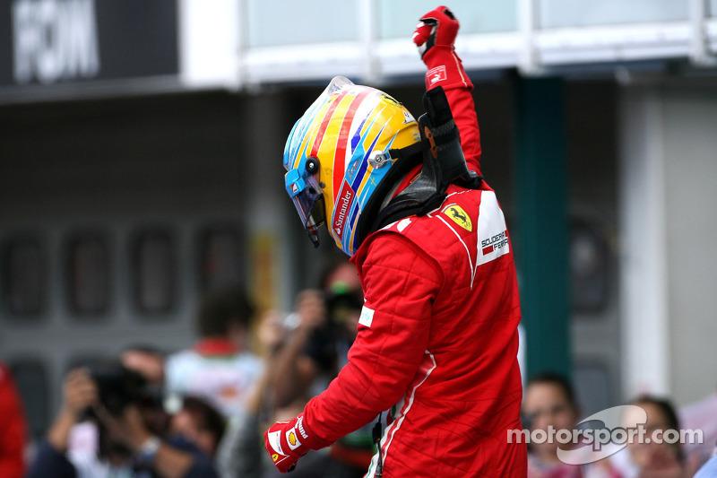 Переможець гонки Фернандо Алонсо, Scuderia Ferrari