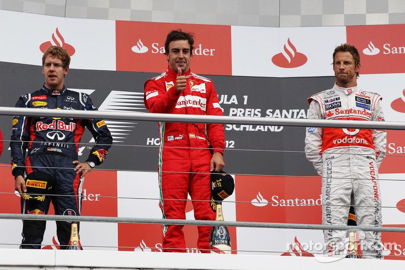 81- Fernando Alonso, 1º en el GP de Alemania 2012 con Ferrari