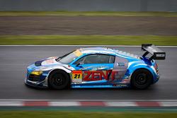 #21 Hitotsuyama Racing Audi R8 LMS: Cyndie Allemann, Akihiro Tsuzuki, Richard Lyons