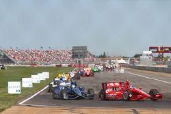 Edmonton Indy Race Start