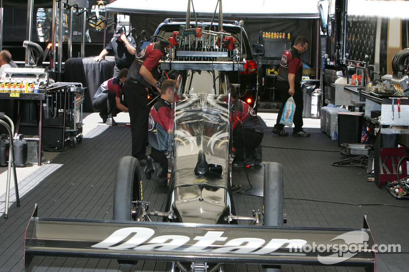 Werk aan Al-Anabi Racing Top Fuel Dragster