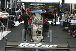 Werk aan Al-Anabi Racing Top Fuel Dragster