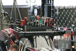 Werk aan Shawn Langdon's Top Fuel Dragster