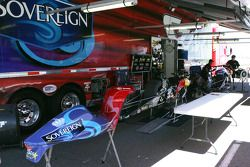 Pro Stock Motorcycle Pit Area
