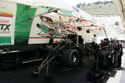 Werk aan Mike Neff's Top Fuel Funny Car