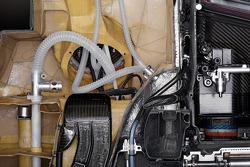 Tankzelle im Sauber F1.08