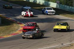 #113 1969 MG Midget : Scott Barrett #54  1970 Porsche 914/4 : Melvin Andrews #45 1967 Alfa Romeo GTV : Barb Nevoral #70 1961 Porsche 356B: Vic Skirmants