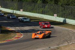#54 1968 McLaren M6B : Jim Pace #18 1969 Lola T70 MkIIIB: Tony Bean #27 1968 Lola T70 MkIIIB : David