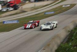 #27 1968 Lola T70 MkIIIB : David Ritter #1 1969 Lola T70 MkIIIb : Peter Kitchak