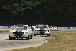 #79 1965 Shelby GT350: Steve Hughes #98 1966 Shelby GT350: Gary Moore