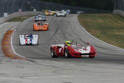 #7 1967 Lola T70 Spyder : Robert Blain #22 1968 McLaren M6B : Robert Bordin #44 1970 Lola T165 : Jim Ferro