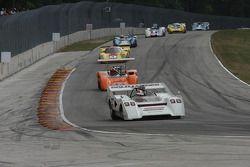#98 1972 McLaren M8FP : Ed Swart #44 1970 Lola T165 : Jim Ferro #4 1968 Lola T70 MkIIIB: Duncan Dayt