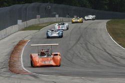 #44 1970 Lola T165 : Jim Ferro #11 1965 Lola T70 MkI : Marc Devis #22 1968 McLaren M6B : Robert Bord