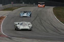 #27 1968 Lola T70 MkIIIB : David Ritter #25 1967 McKee: Norm Cowdrey #44 1970 Lola T165 : Jim Ferro
