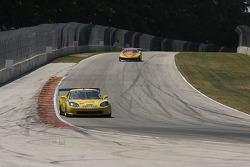 #2 2006 Corvette: Ron Fellows #13 1990 Chevrolet Camaro GT1: Rick Pfrang