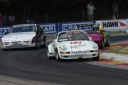 #181 1969 Porsche 911: Peter Kitchak #112 1987 Porsche 944 Turbo C/S: David Roberts