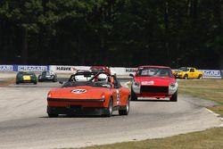 #129 1971 Porsche 914/6: Ben Robertaccio #84 1972 Datsun 240Z: Michael Manser