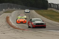 #16 2010 Ford Mustang Boss302R: George Biskup #04 1999 Marcos Mantis: Keith Conroy
