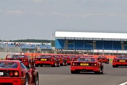 De Rode Zee - Ferrari F40 25ste verjaardag