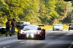 #44 Sport Garage Ferrari 458 Italia GT3: Gilles Duqueine, Eric Vaissiere, Andre-Alain Corbel, Christian Beroujon