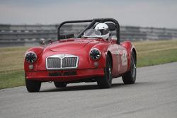 #185, 1957 MG A, Mark Palmer