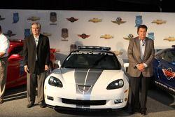The Corvette pace car