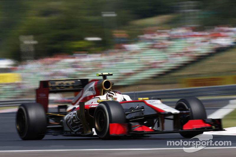 Dani Clos, HRT Formula One Team Piloto de pruebas