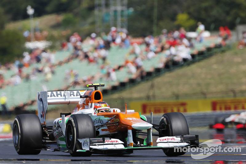 Jules Bianchi, Sahara Force India F1 Team Tercer piloto