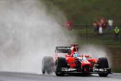 Timo Glock, Marussia F1 Team wet