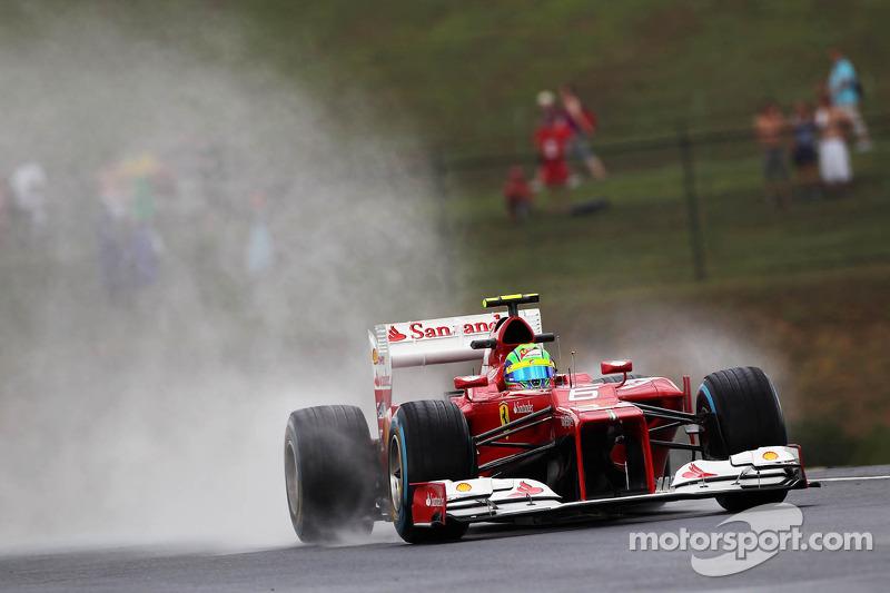 Felipe Massa, Ferrari in de regen