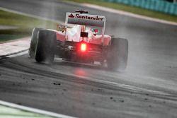 Fernando Alonso, Ferrari in the wet