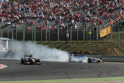 Trouble for Johnny Cecotto