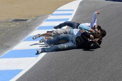 Michele Pirro, Honda Gresini en vrienden in de corkscrew
