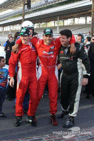 Race winnaars Alex Popow, Sébastien Bourdais