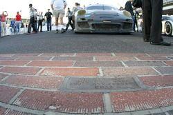 GT winnaars #44 Magnus Racing Porsche GT3: Andy Lally, John Potter